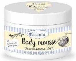 Nacomi Body Mousse (W) mus do ciała Bananowo-kokosowy Shake 180ml