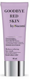 Nacomi Goodbye Red Skin (W) zmniejszająca zaczerwienienia maseczka do twarzy 85ml