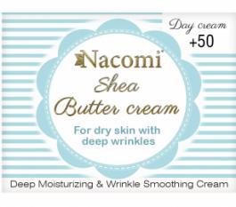 Nacomi Shea Butter Cream 50+ (W) krem do twarzy na dzień z masłem Shea 50ml