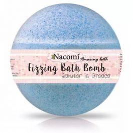 Nacomi Fizzing Bath Bomb (W) półkula musująca do kąpieli Summer in Greece 51g
