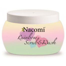 Nacomi Rainbow Scrub Wash (W) myjąco-peelingująca pianka do ciała Rainbow 200ml