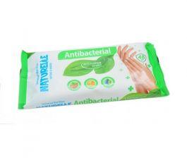 Naturelle chusteczki antybakteryjne z ekstraktem z liści babki opakowanie 48szt