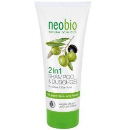 Neobio (W) szampon i żel 2w1 Oliwkowo - Bambusowy Eko 200ml