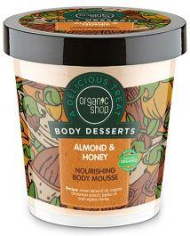 Organic Shop Body Desserts Almond & Honey Body Mousse (W) mus do ciała 450ml