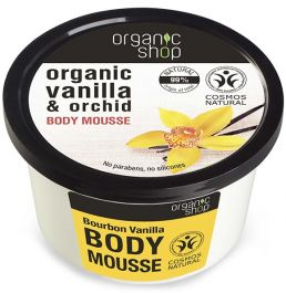 Organic Shop Bourbon Vanilla Body Mousse (W) mus do ciała 250ml