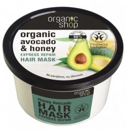 Organic Shop Honey Avocado Hair Mask (W) maska do włosów 250ml