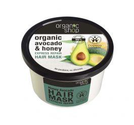 Organic Shop Honey Avocado&Honey Repair Hair Mask (W) regenerująca maska do włosów 250ml