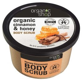 Organic Shop Honey Cinnamon Body Scrub (W) peeling do ciała 250ml