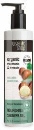 Organic Shop Kenyan Macadamia Nourishing Shower Gel (W) żel pod prysznic 280ml