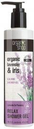 Organic Shop Lavende De Provence Relax Shower Gel (W) żel pod prysznic 280ml