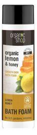 Organic Shop Lemon Honey Bath Foam (W) płyn do kąpieli 500ml