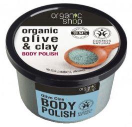 Organic Shop Olive Clay Body Polish (W) pasta do ciała 250ml