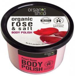 Organic Shop Pearl Rose Body Polish (W) pasta do ciała 250ml
