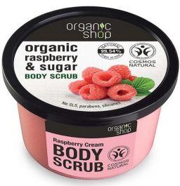 Organic Shop Raspberry Cream Body Scrub (W) peeling do ciała 250ml