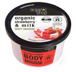 Organic Shop Strawberry Yoghurt Body Musse (W) mus do ciała 250ml