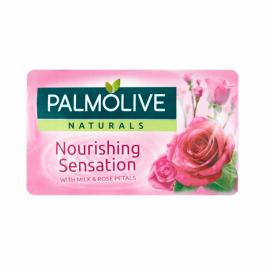Palmolive Naturals Nourishing Sensation mydło w kostce Mleko i Róża 90g