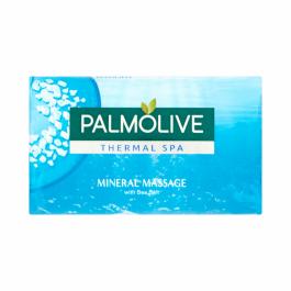 Palmolive Naturals Thermal Spa Mineral peelingujące mydło w kostce 90g