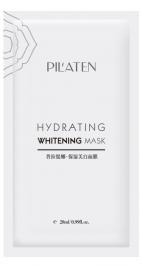 Pilaten Hydrating Whitening Mask (W) maseczka w płacie 28ml