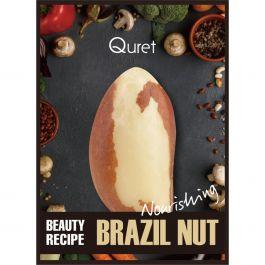 Quret Beauty Recipe Mask Brazil Nut (W) odżywcza maska z ekstraktem z orzecha brazylijskiego 25g