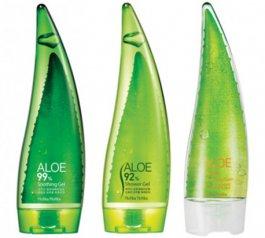 Zestaw prezentowy dla kobiet Holika Holika Jeju Aloe Face & Body Care (W) pianka do twarzy 55ml + sg 55ml + żel do ciała 55ml