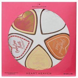 SET Makeup Revolution I Heart Heaven (W) zestaw pięciu rozświetlaczy