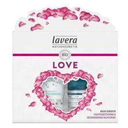 SET Lavera LOVE (W) nawilżający krem na dzień 50ml + regenerujący krem na noc 50ml