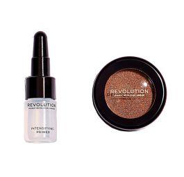 SET Makeup Revolution Flawless Foils (W) cień foliowy Conflict + Intensifying Primer