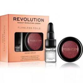 SET Makeup Revolution Flawless Foils (W) cień foliowy Rose Gold + Intensifying Primer