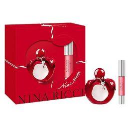 Zestaw prezentowy dla kobiet Nina Ricci Rouge  woda toaletowa 50ml + pomadka