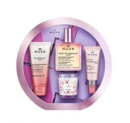 SET Nuxe Huile Prodigieuse Florale (W) żel pod prysznic 100ml + suchy olejek 100ml + krem do twarzy 40ml + świeca 70g