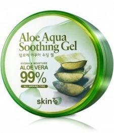 Skin79 Aloe Aqua Soothing Gel 99%  (W) aloesowy żel łagodzący 300ml