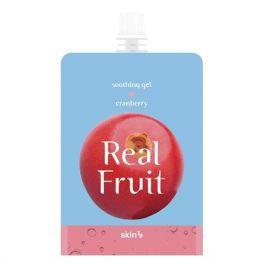 SKIN79 Real Fruit Soothing Gel Cranberry (W) odświeżająco-rewitalizujący żel żurawina 300g
