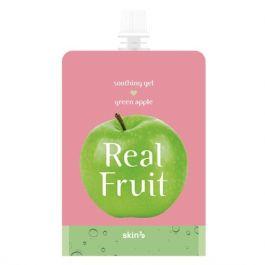 SKIN79 Real Fruit Soothing Gel Green Apple (W) odżywczo-rewitalizujący żel zielone jabłko 300g