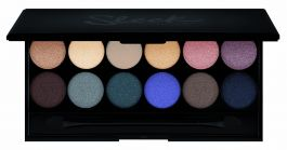 Sleek Makeup iDivine (W) paleta 12 cieni do powiek Storm 9g