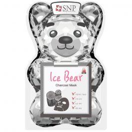 SNP Ice Bear Charcoal Mask (W) chłodząco-oczyszczająca maska w płachcie 33ml