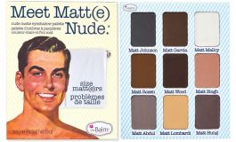 The Balm Palette (W) paleta 9 cieni do powiek Meet Matt(e) Nude 25,5g