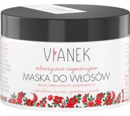 Vianek (W) intensywnie regenerująca maska do włosów farbowanych jasnych 150ml