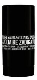 Zadig & Voltaire This is Him! dezodorant w sztyfcie dla mężczyzn 75ml