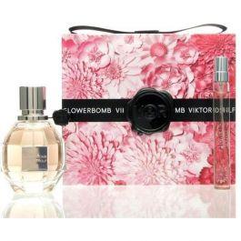 Zestaw prezentowy dla kobiet Viktor & Rolf Flowerbomb woda perfumowana 50ml + woda perfumowana 10ml
