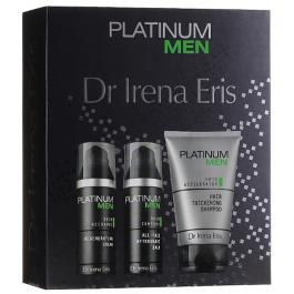 Zestaw prezentowy dla mężczyzn Dr Irena Eris Platinum Men krem do twarzy 50ml + balsam po goleniu 50ml + szampon do włosów 125ml