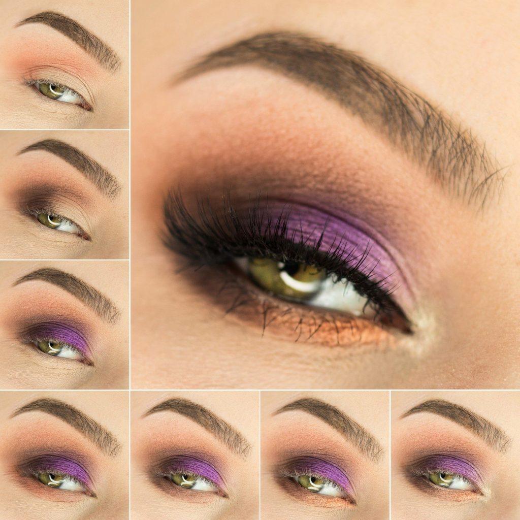 zielone oczy makijaż tutorial