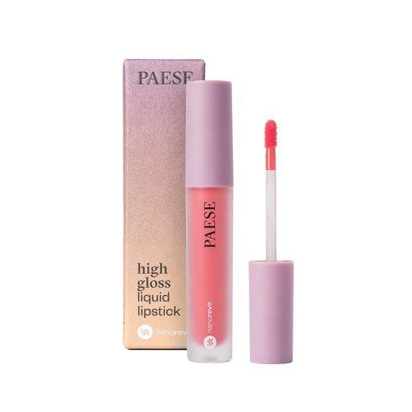 Paese Nanorevit High Gloss Liquid Lipstick (W) pomadka w płynie 52 Coral Reef 4,5ml