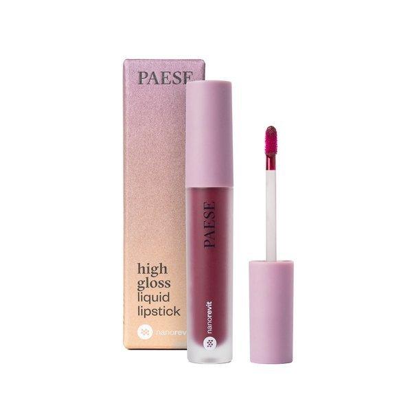 Paese Nanorevit High Gloss Liquid Lipstick (W) pomadka w płynie 54 Sorbet 4,5ml