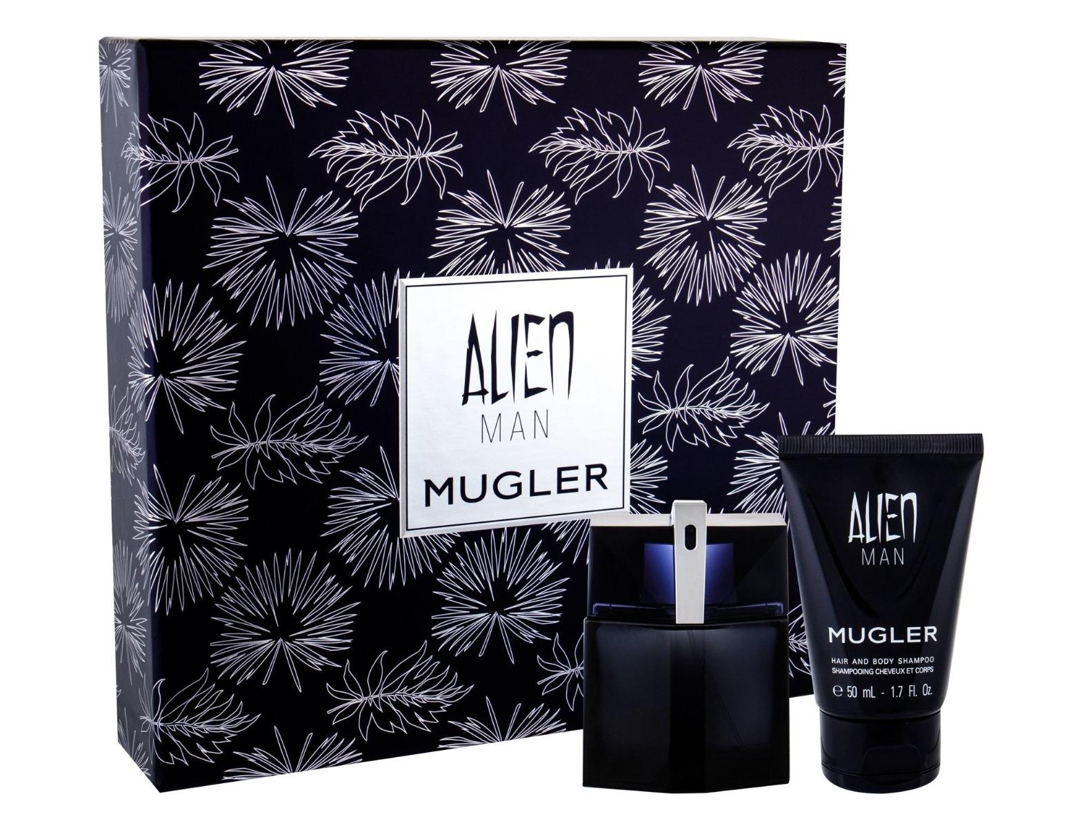 Zestaw prezentowy dla mężczyzn Thierry Mugler Alien woda toaletowa 50ml + żel pod prysznic 50ml