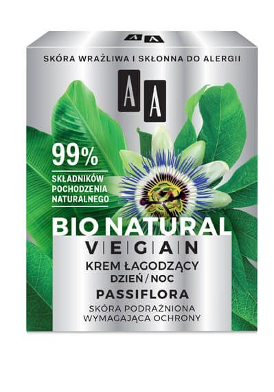 AA Bio Natural Vegan (W) krem łagodzący 50ml