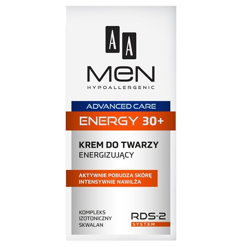 AA Men Advanced Care Energy 30+ (M) krem do twarzy energizujący 50ml