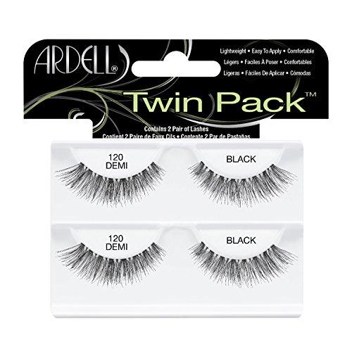 Ardell Twin Pack (W) sztuczne rzęsy 120 Demi Black 4szt.