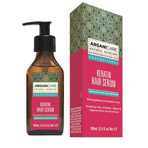 Arganicare Keratin Hair Serum (W) serum naprawcze do włosów z keratyną 100ml