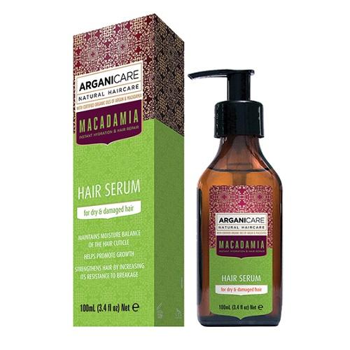 Arganicare Macadamia Hair Serum (W) serum do suchych i zniszczonych włosów 100ml