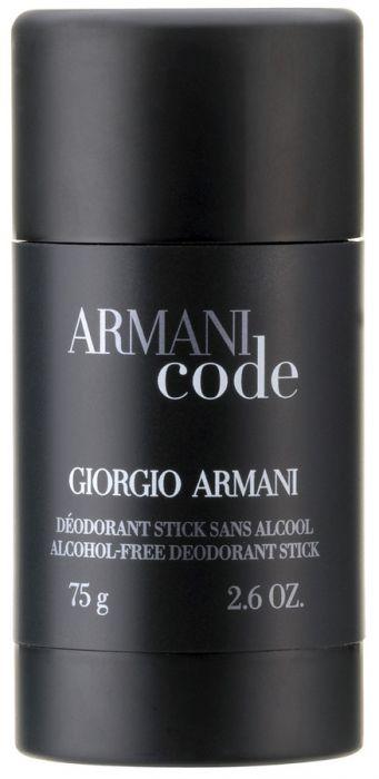 Armani Code dezodorant w sztyfcie dla mężczyzn 75ml